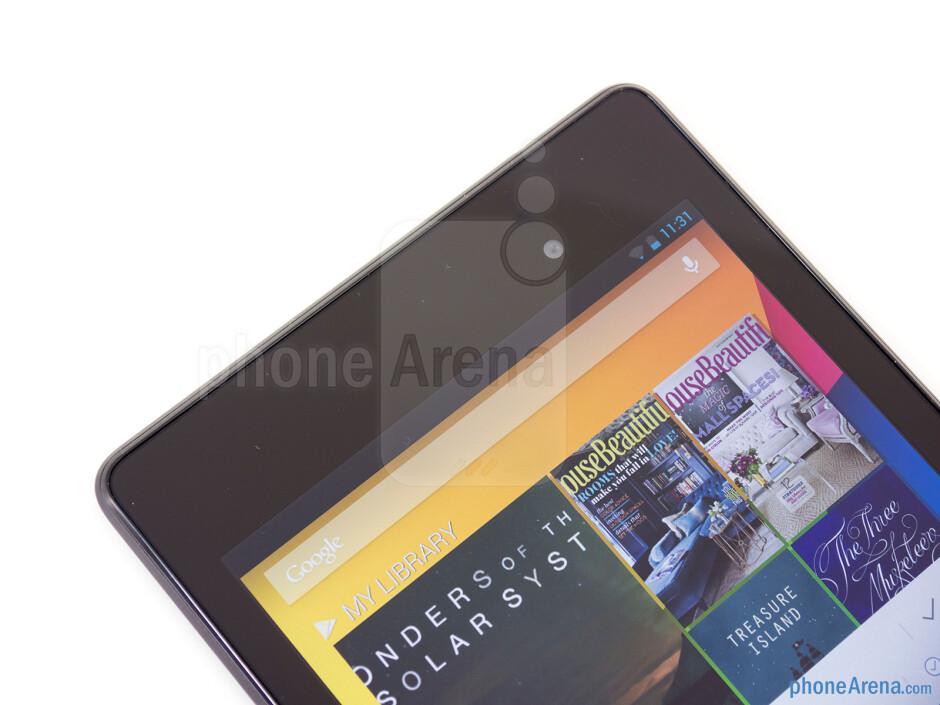Front camera - Google Nexus 7 Review (2013)
