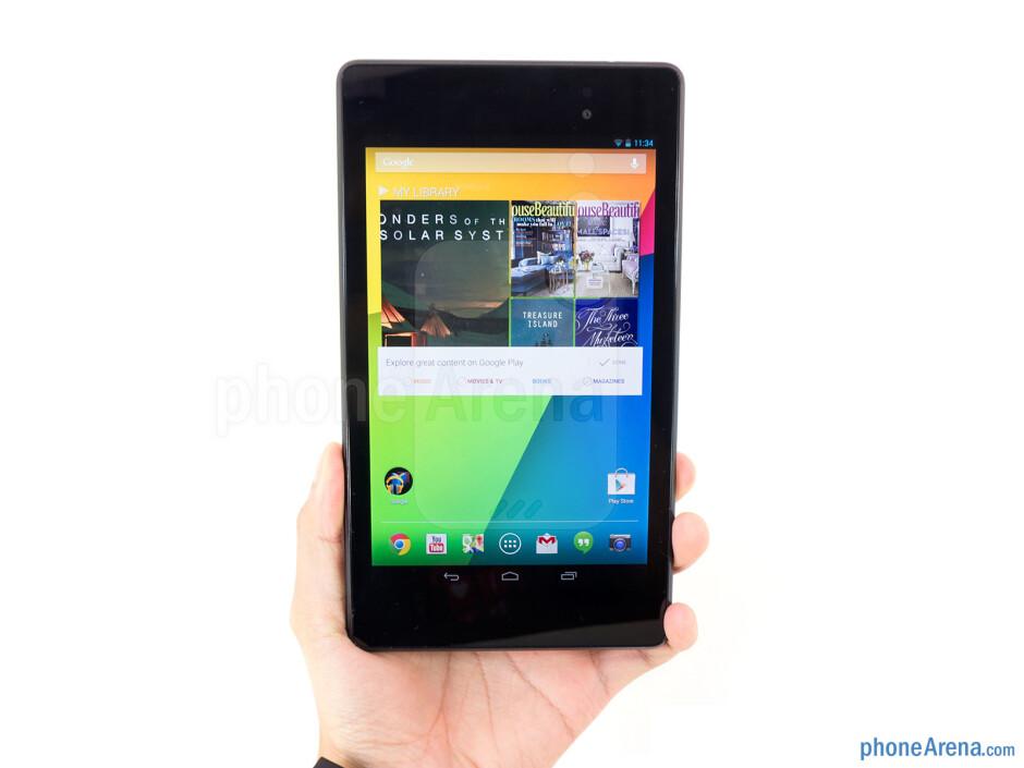 The Google Nexus 7 has a minimalist design - Google Nexus 7 Review (2013)