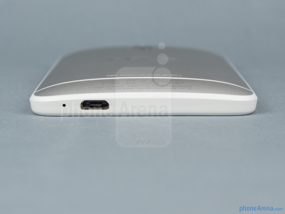 Bottom - The sides of the HTC One Mini - HTC One mini Review