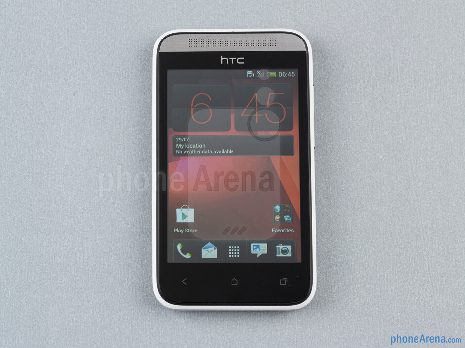 Front - HTC Desire 200 Review