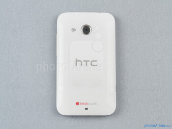 Back - The sides of the HTC Desire 200 - HTC Desire 200 Review