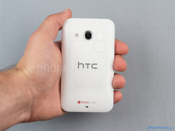 The HTC Desire 200 is comfortable to hold and operate with one hand - HTC Desire 200 Review