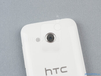 Rear camera - The sides of the HTC Desire 200 - HTC Desire 200 Review