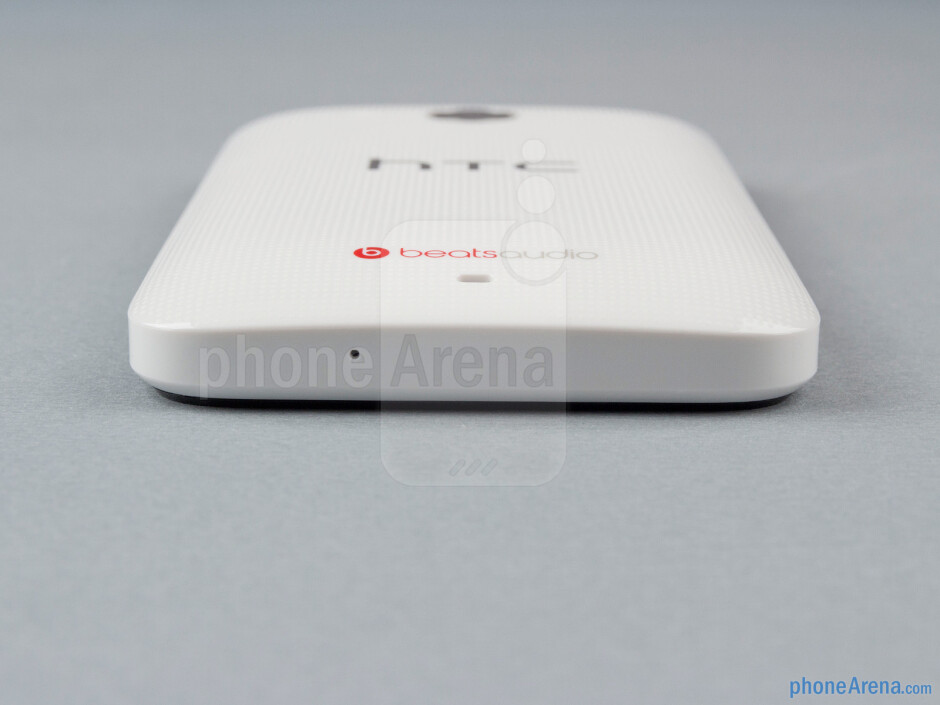 Bottom edge - The sides of the HTC Desire 200 - HTC Desire 200 Review