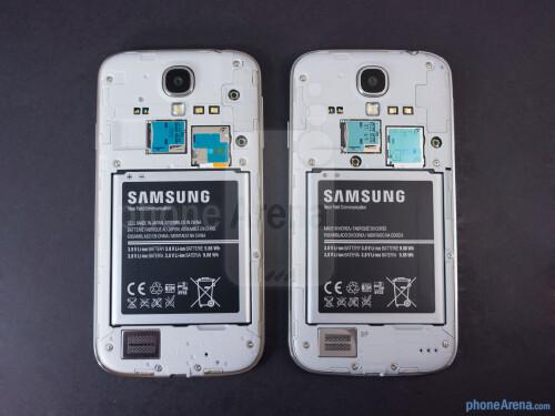 Samsung Galaxy S4 Google Play Edition vs Samsung Galaxy S4