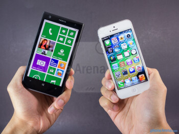 Nokia Lumia 1020 vs Apple iPhone 5