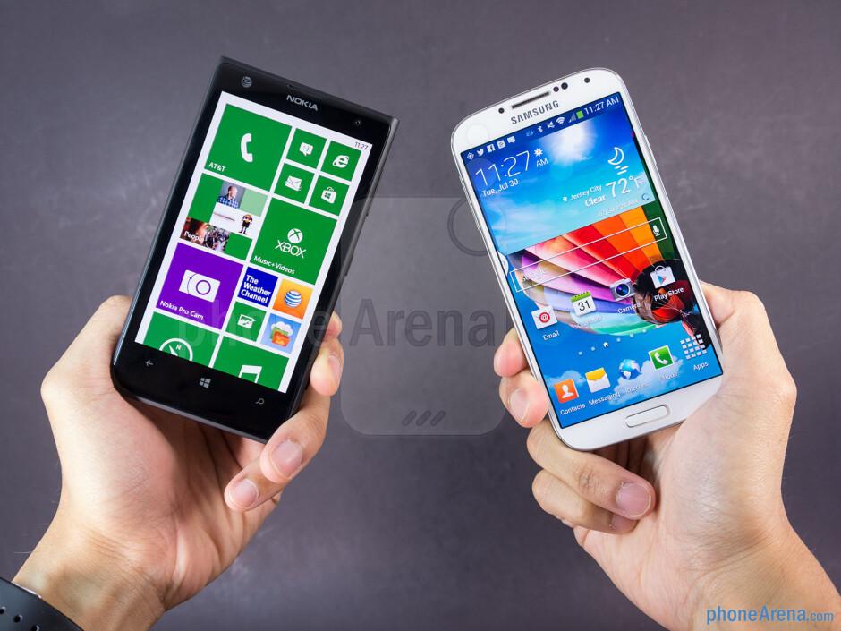 Nokia Lumia 1020 vs Samsung Galaxy S4