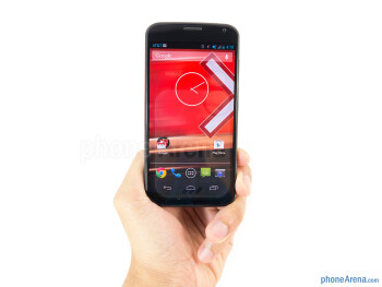 The Motorola Moto X makes for a comfortable and natural feel in the hand - Motorola Moto X Review