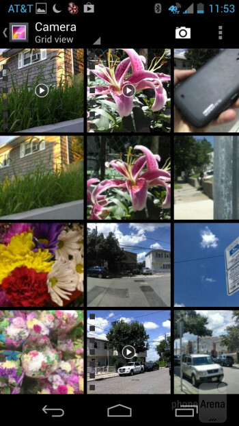 The Gallery app on the Motorola Moto X - Motorola Moto X Review