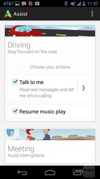 Motorola Assist - Motorola Moto X Review