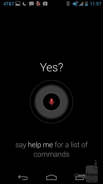 The Touchless Control feature is powered by Google Now - Motorola Moto X Review