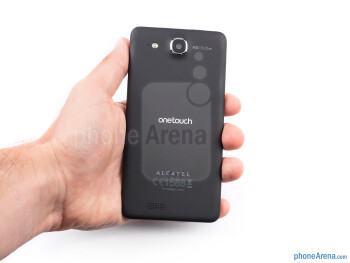The Alcatel One Touch Ultra is comfortable to hold - Alcatel One Touch Idol Ultra Review