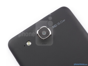 Rear camera - Alcatel One Touch Idol Ultra Review