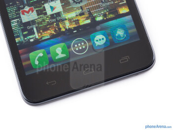 Capacitive Android buttons - Alcatel One Touch Idol Ultra Review