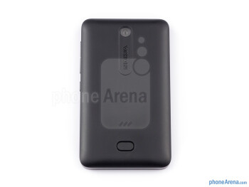 Back - Nokia Asha 501 Review