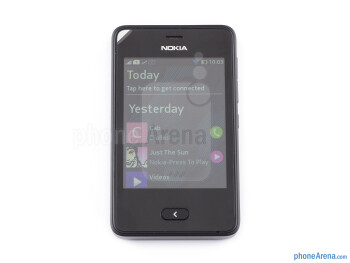 Front - Nokia Asha 501 Review