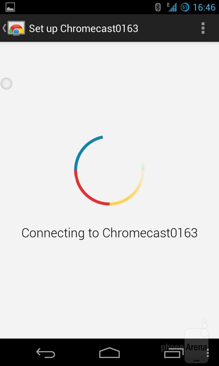how to send only video to chromecast