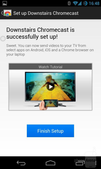Setting up Google Chromecast - Google Chromecast Review
