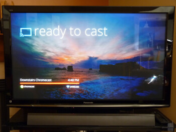 The second half of the streaming equation is tab casting - Google Chromecast Review