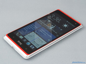 The stereo speakers are a great asset for music lovers - HTC Desire 600 Review