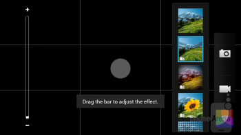 The camera interface of HTC Desire 600 is rich in options - HTC Desire 600 Review