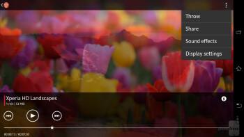 Video player of the Sony Xperia Z Ultra - Sony Xperia Z Ultra vs Samsung Galaxy Mega 6.3