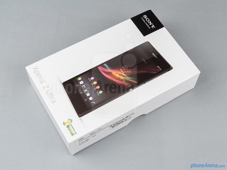 Box and contents - Sony Xperia Z Ultra Review