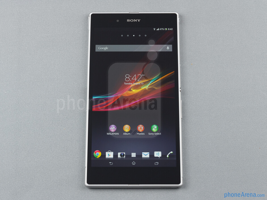 Front - Sony Xperia Z Ultra Review