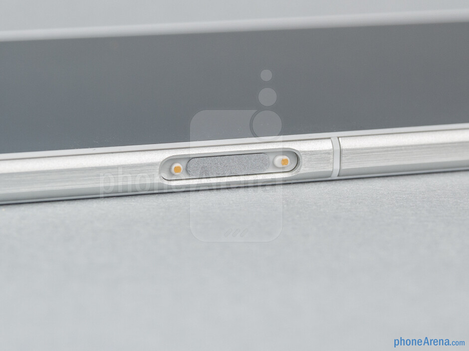 A dock connector is on the left - Sony Xperia Z Ultra Review
