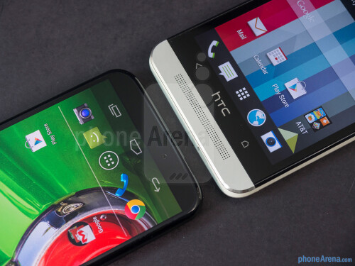 Motorola Moto X vs HTC One