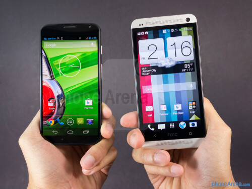 Motorola Moto X vs HTC One