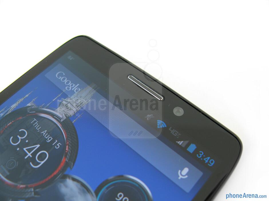 Front camera - Motorola DROID Ultra Review