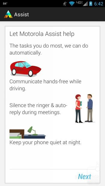 Motorola Assist - Motorola DROID MAXX Review