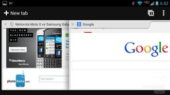 Web browsing on the Motorola DROID MAXX - Motorola DROID MAXX Review