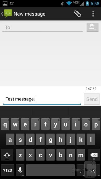 Messaging - Motorola DROID MAXX Review