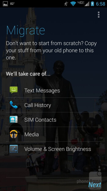 Motorola Migrate - Motorola DROID MAXX Review