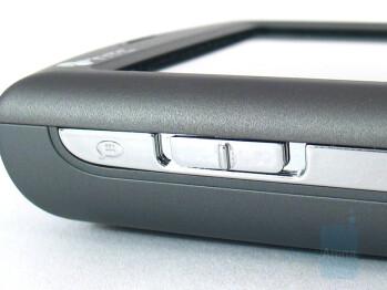 Left side - HTC P3300 Artemis Review