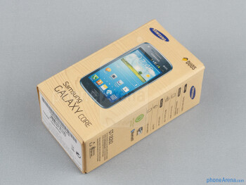 Box and contents - Samsung Galaxy Core Review