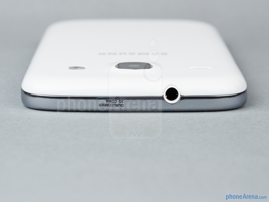 3.5mm jack (top) - The sides of the Samsung Galaxy Core - Samsung Galaxy Core Review