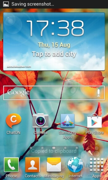 The Samsung Galaxy Core runs on Android 4.1 Jelly Bean with Samsung's TouchWiz on top - Samsung Galaxy Core Review