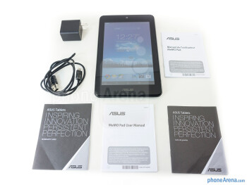 Box and contents - Asus MeMo Pad HD 7 Review