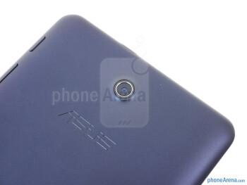 Rear camera - The sides of the Asus MeMo Pad HD 7 - Asus MeMo Pad HD 7 Review