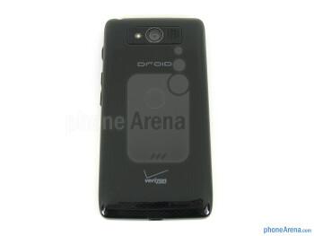 Back - The sides of the Motorola DROID Mini - Motorola DROID Mini Review