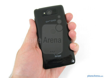 The Motorola DROID Mini is quite compact and comfortable to hold - Motorola DROID Mini Review