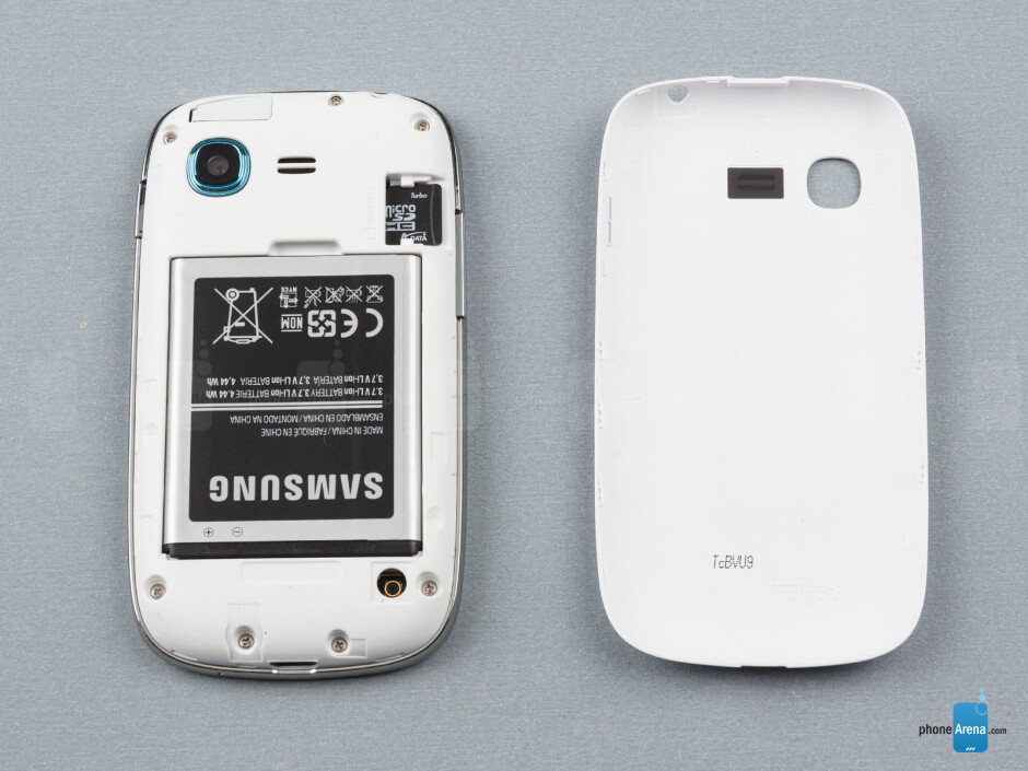 Battery compartment - Samsung Galaxy Pocket Neo Review