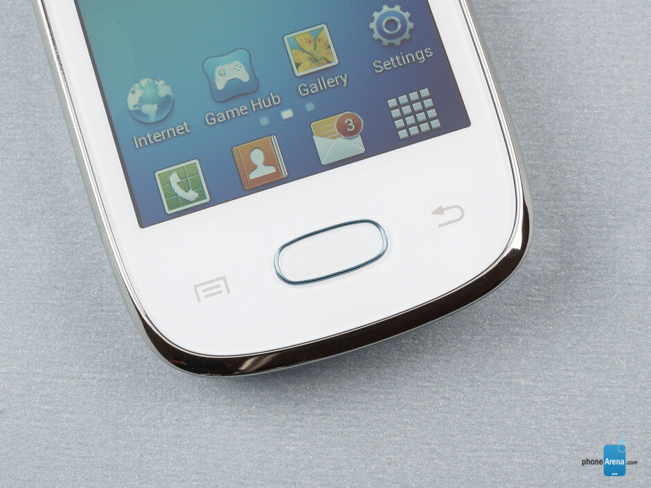 Android buttons - Samsung Galaxy Pocket Neo Review