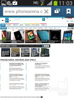 Browsing with the Samsung Galaxy Pocket Neo - Samsung Galaxy Pocket Neo Review