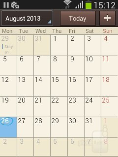 S Planner - Organizer apps - Samsung Galaxy Pocket Neo Review