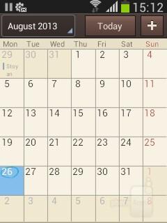 S Planner - Organizer apps - Samsung Galaxy Pocket Neo Review