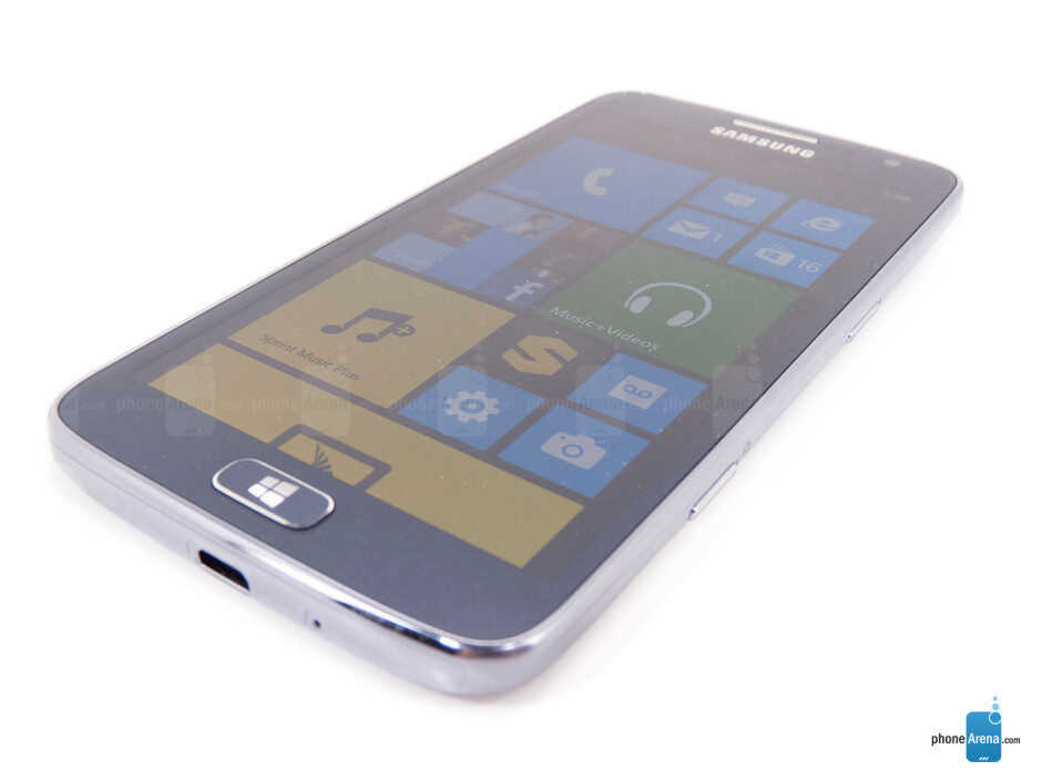 The sides of the Samsung ATIV S Neo - Samsung ATIV S Neo Review